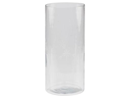 Zylinder Vase mit Schliff