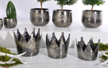 Spiller Keramik - Krone Merado antique groß