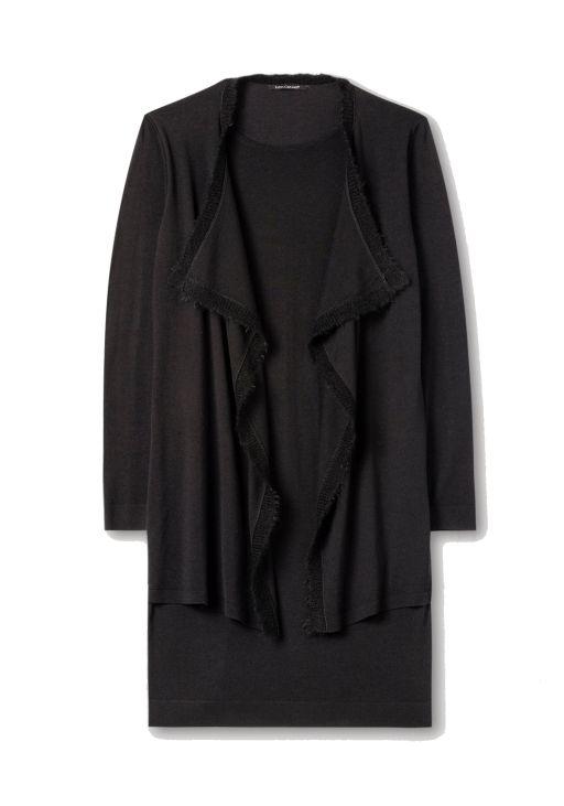 Luisa Cerano - Kleid mit offenem Vorderteil
