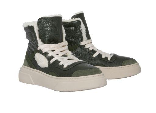 Dorothee Schumacher - High Top Sneaker green mix