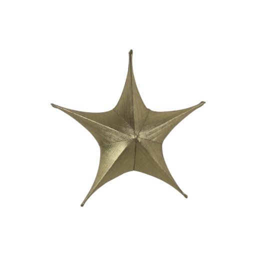 Dekostern gold-metallic 80 cm
