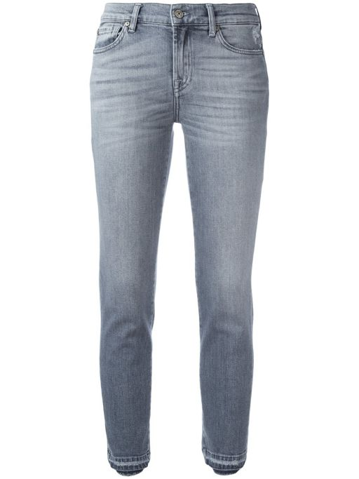 7 For All Mankind - Mid Rise Roxanne Grey