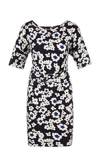 Marc Cain - Kleid mit Blütendruck