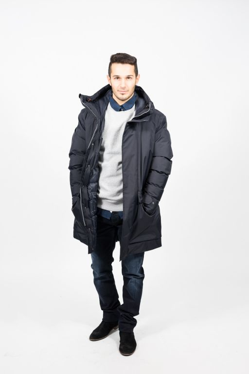 Save The Duck - Herrenwinterjacke mit Stehkragen