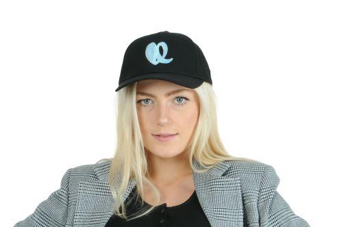 lala Berlin - Cap Black and Blue Heart