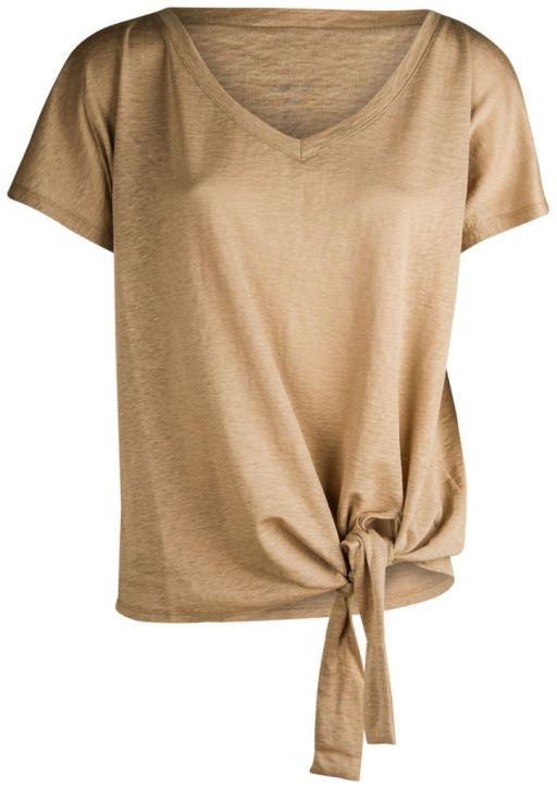 Marc Cain - Shirt mit Knoten vorne