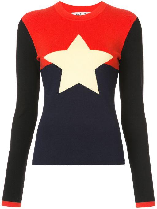Diane von Furstenberg - Star Sweater