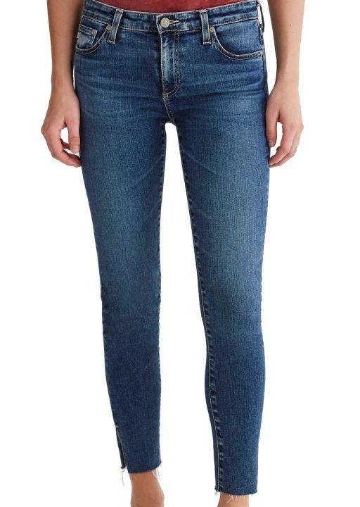 AG Jeans - The Legging Ankle mit Schlitz am Saum