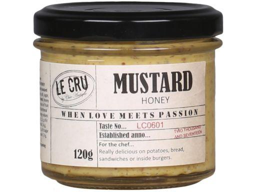 LE CRU Glutenfreier Senf mit Honig
