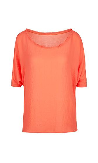 Marc Cain - Weite, locker fallende Bluse Shirt in Orange