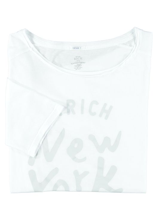 Better Rich - Lockeres T-Shirt New York weiss