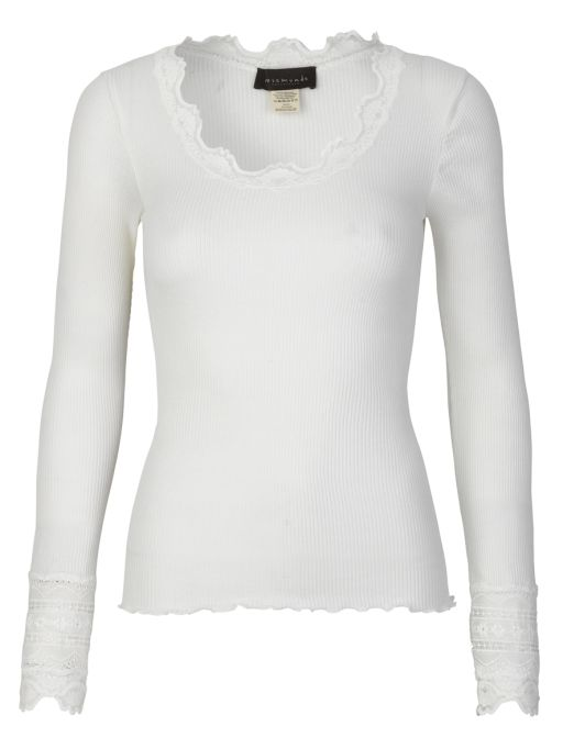 Rosemunde - Langarmshirt mit Spitze am Handgelenk