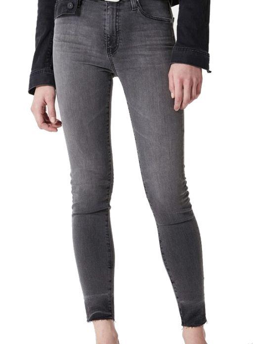 AG Jeans - Farrah Skinny Ankle anthrazit verwaschen