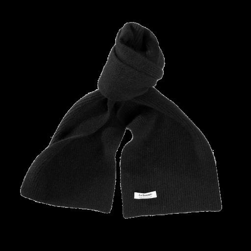 Le Bonnet - Strickschal Schwarz