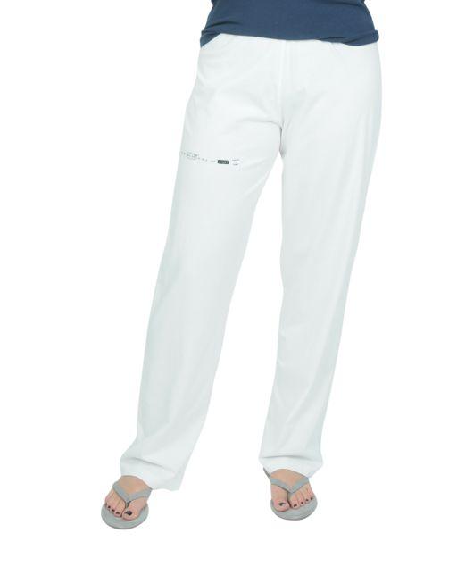 Onedaybaby - Pyjama-Hose weiss lang