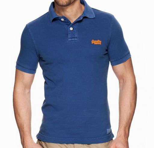 Superdry - Herren Polo Shirt nautical blue