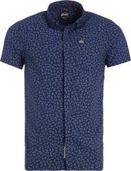 Superdry - Herren Ghost Button Down Shirt indigo floral