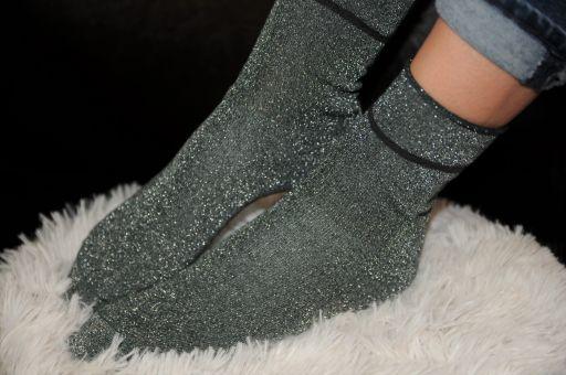 Daily Socks - CHLOE Baumwollsöckchen mit Lurexgarn
