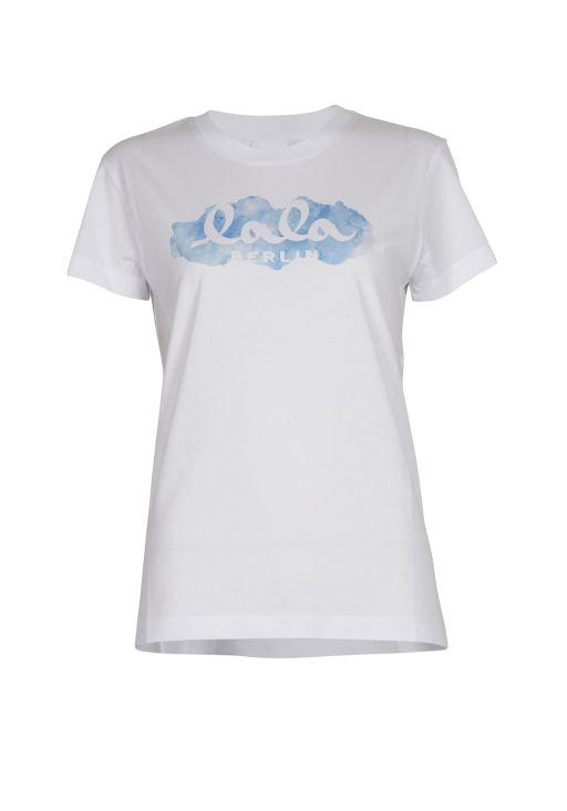 lala Berlin - T-Shirt Aquarelle Blue