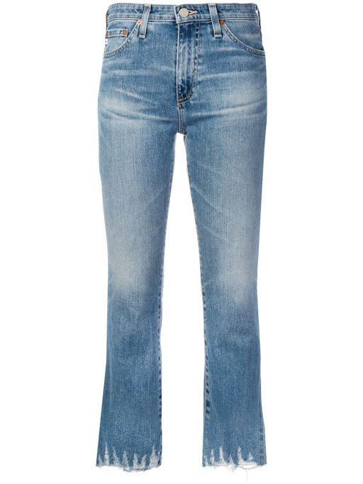 AG Jeans - Jodi Crop mit ausgefranstem Saum