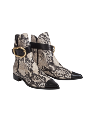 Dorothee Schumacher - Buckled Beauties Pointed Stiefelette