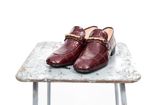 Joseph - Loafer mit geprägtem Leder