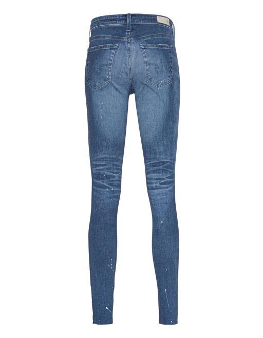 """AG Jeans - """"The Legging Ankle Super Skinny"""" mit Farbkleksen *einmalig*"""