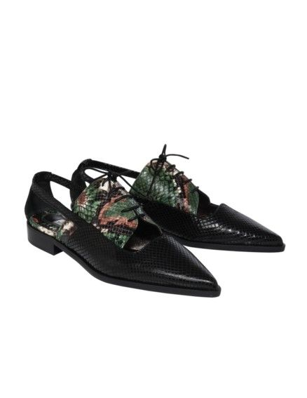 Dorothee Schumacher -  Exotic Chic Cut out Oxford Schuh