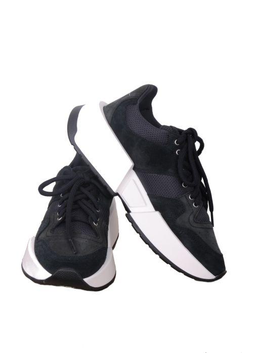 MM6 Maison Margiela - Sneaker mit breiter Sohle black