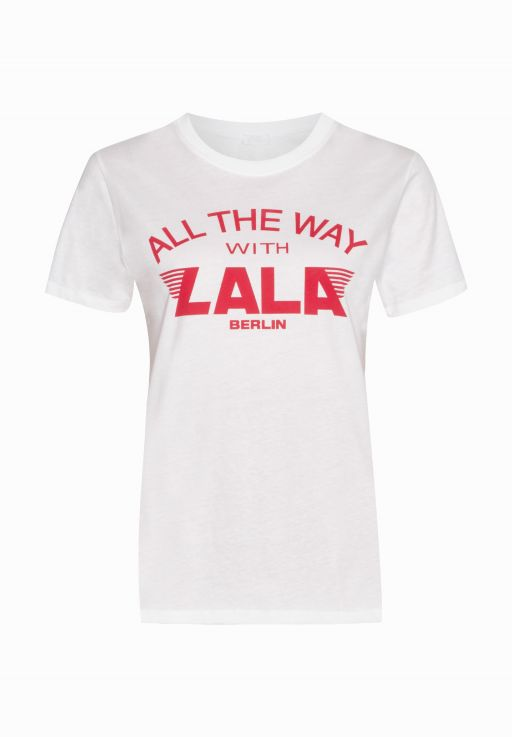 "lala Berlin - T-Shirt ""All The Way"""