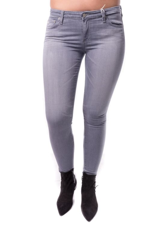 AG Jeans - The Legging Ankle in grau