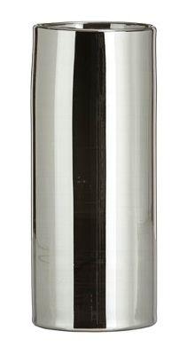 Vase sila mit Metallauflage