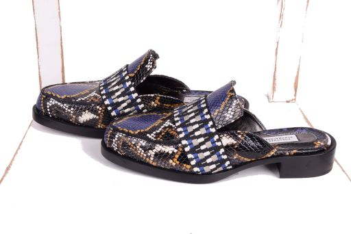 Dorothee Schumacher - Exotic Adventure Loafer blue snake