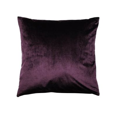 Samtkissen dunkel violett