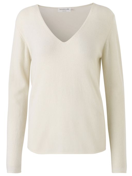 Rosemunde - Pullover mit V-Ausschnitt