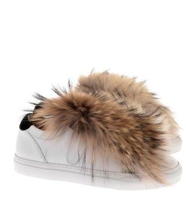 MaxMara - Unito Sneaker mit Fell