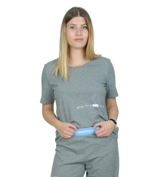 Onedaybaby - Pyjama-T-Shirt grau
