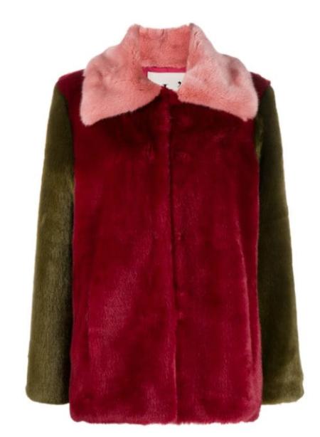 L'AUTRE CHOSE - Fake Fur Jacke